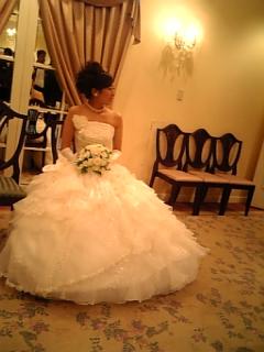 結婚式でした。