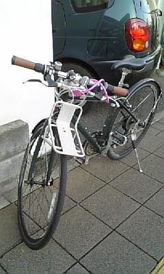 自転車初め